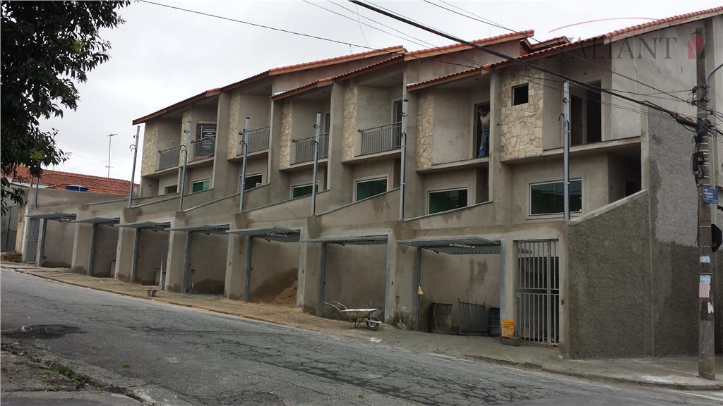 Sobrado Novo Residencial à venda, Vila Rio Branco, São Paulo.