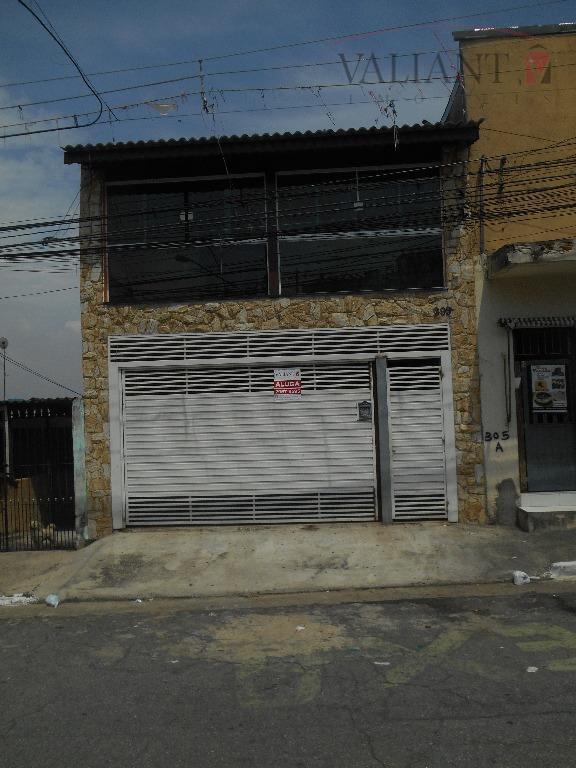 Sobrado  comercial para locação, Vila Santa Lúcia, São Paulo.