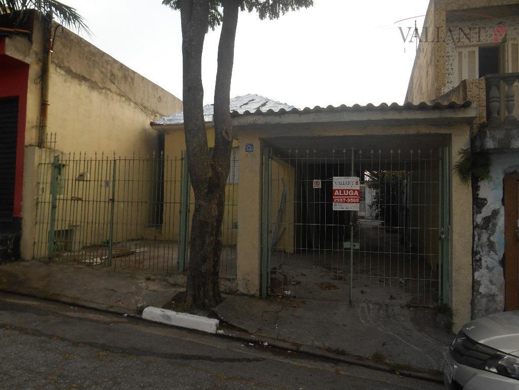 Casa  residencial para locação, Vila Domitila, São Paulo.