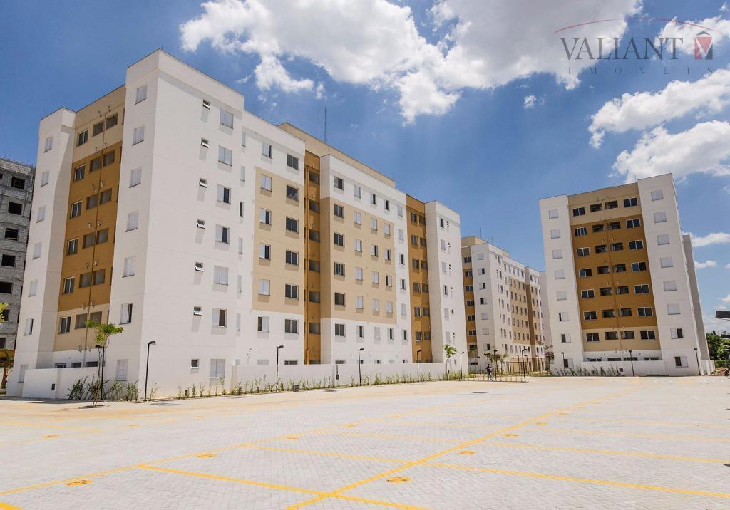 Apartamento  2 Domitórios (45m²) para locação, Jardim São Francisco (Zona Leste), São Paulo.
