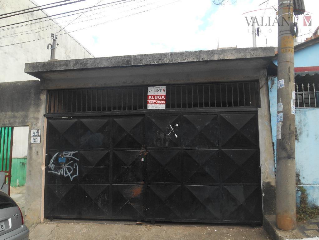 Salão  comercial para locação, Vila Ponte Rasa, São Paulo.