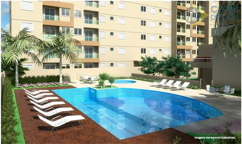 Vivare Club Residence, Apartamento em Paulinia