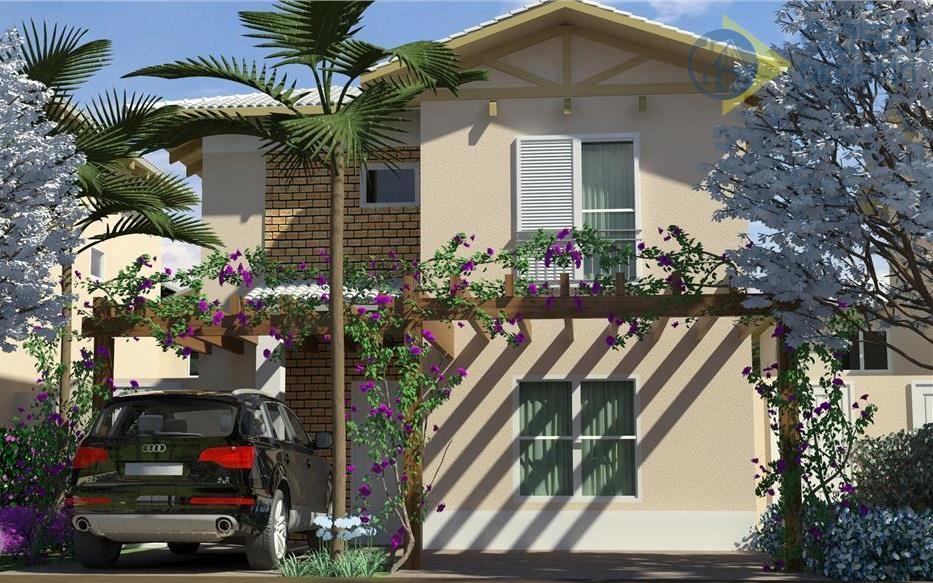 Casa à Venda, 3 Suítes, 120m2 de Construção, 220m2 de Terreno, 2 Vagas, Condomínio Sunset Boulevard 2, Paulínia, SP