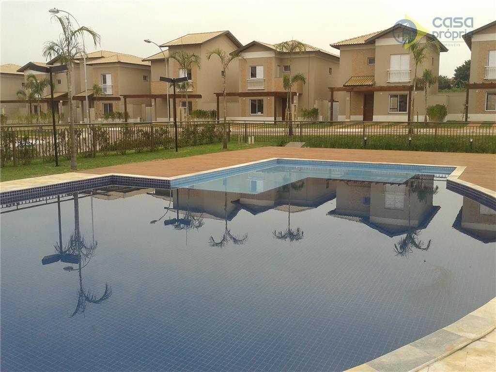 Casa 120m2, 3 Dormitórios (3 Suítes), Sobrado, Condomínio Sunset Boulevard, Paulinia, SP