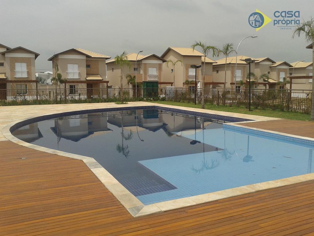Casa em Condomínio para Locação, 3 Suítes, 220m2 de Terreno, NOVINHA, RICA EM ARMARIOS PLANEJADOS, Parque Brasil 500, Paulínia,