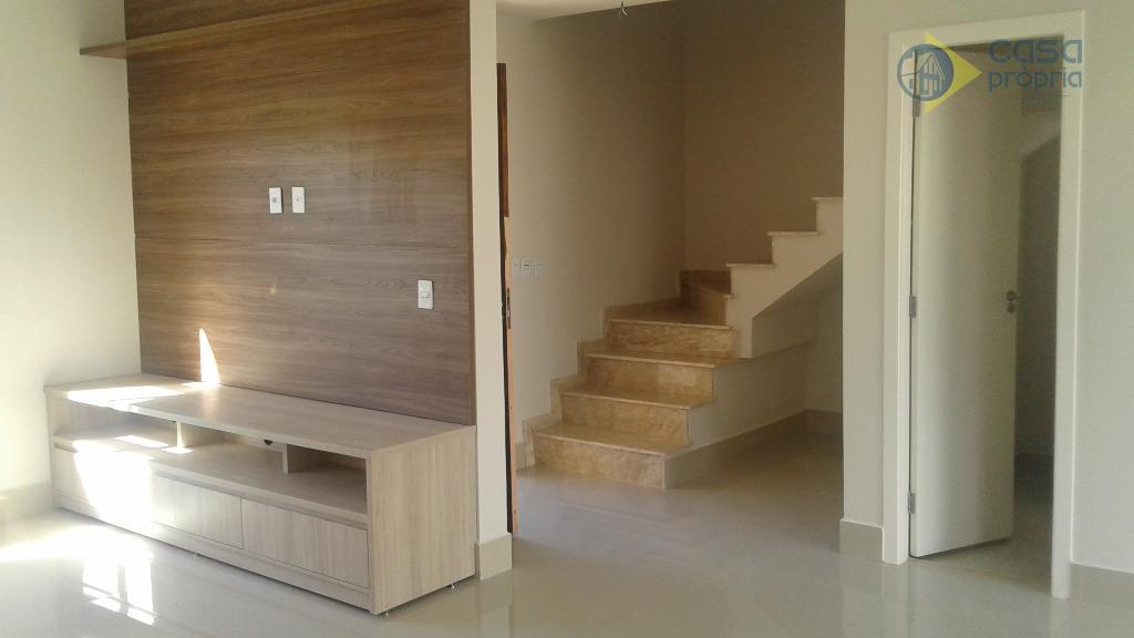 Casa 120m2, Terreno 220m2, 3 Dormitórios (3 Suítes), Sobrado, Condomínio Sunset Boulevard, Paulinia, SP