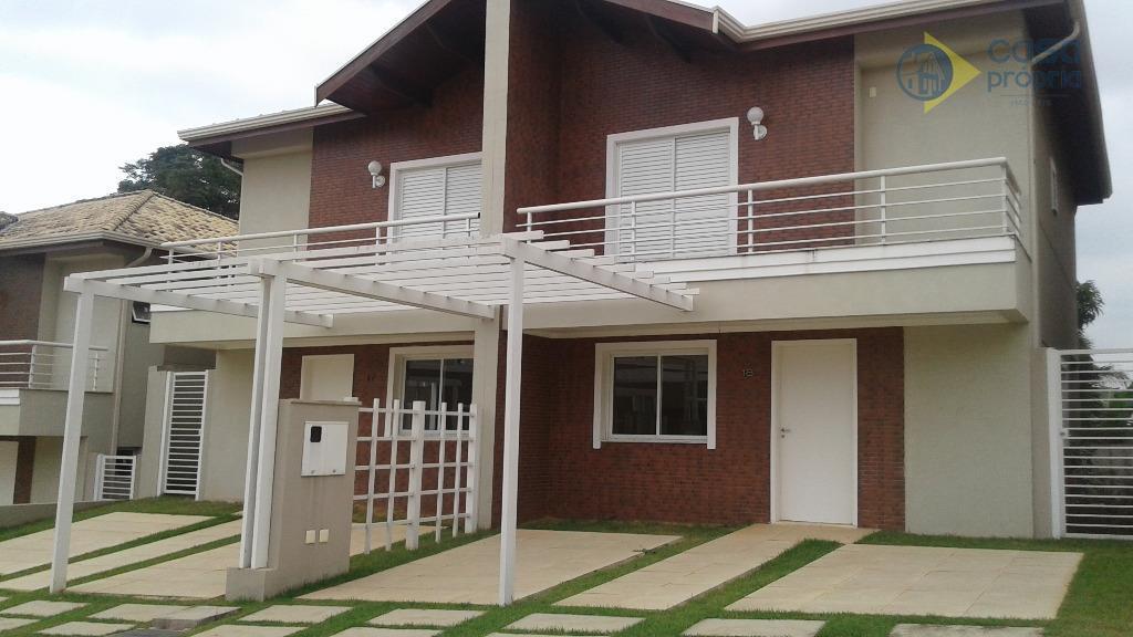 casa em condominio para locação, 3 dormitórios (1 suíte), rica em armarios planejados, condominio residencial villa...