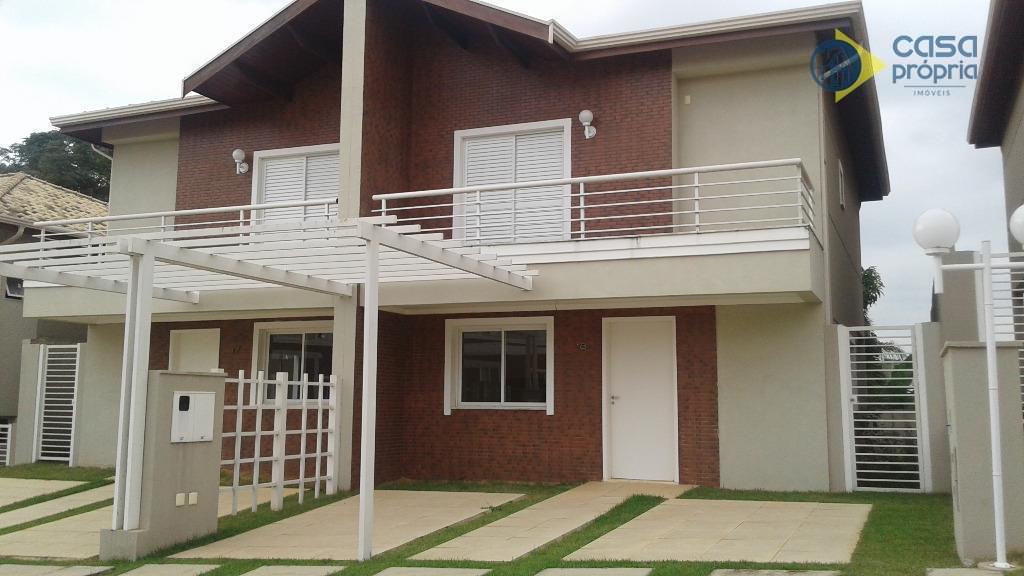 Casa NOVA, 3 Dormitórios (1 Suíte) RICA em PLANEJADOS, com CHURRASQUEIRA, Condominio Villa La Luna, Alphaville, Campinas, SP