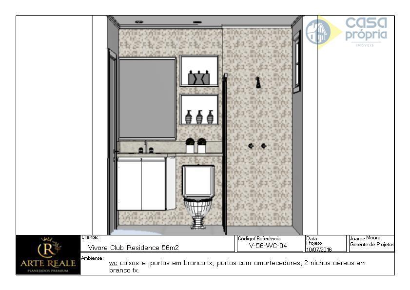 apartamento novo para locação, 2 dormitórios, 2 vagas garagens no subsolo, rico em armarios planejados, parque...
