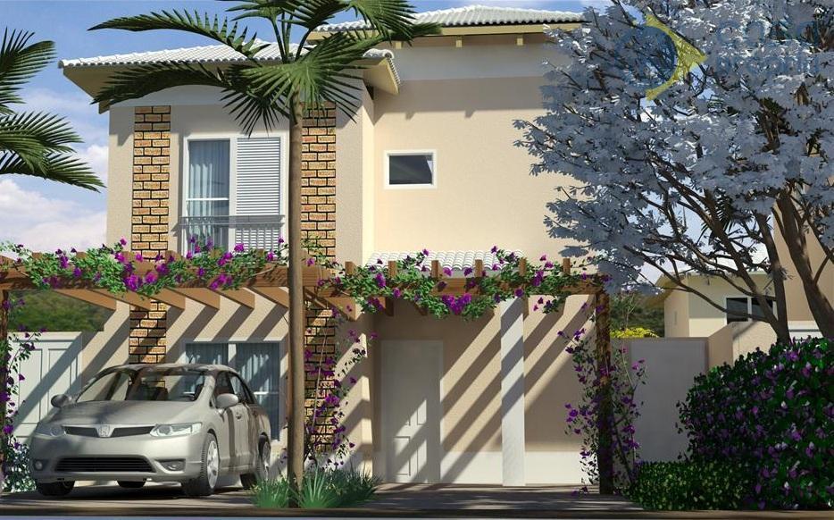 Casa Isolada, 3 Suítes, 120m2, Terreno de Esquina, Condominio Sunset Boulevard, Paulinia, SP