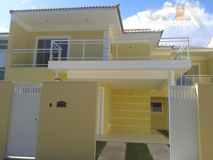 Linda casa duplex de primeira locação com 4 quartos em condomínio em Itaipu