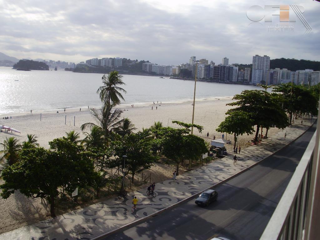 Excelente apartamento de 4 quartos com vaga com vista total mar na Praia de Icaraí.