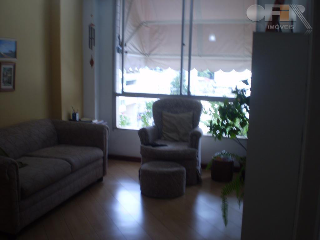 Apartamento de sala/quarto com vaga marcada em Icaraí - Niterói.