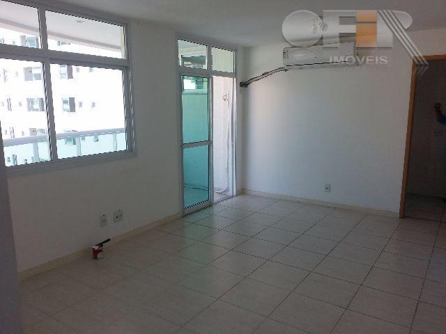 Apartamento vazio de 2 quartos com vaga e lazer completo em Santa Rosa - Niterói.