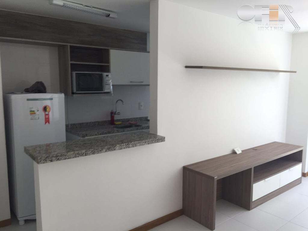 Excelente apartamento com 1 quarto e 2 vagas para locação, Piratininga, Niterói.