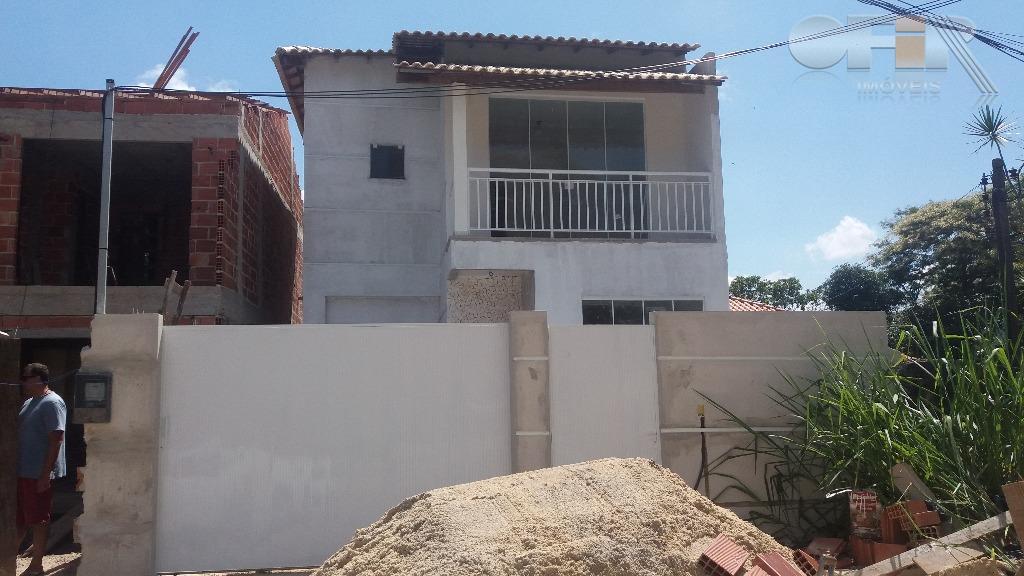 Casa de primeira locação de 3 quartos em condomínio no Engenho do Mato - Niterói.