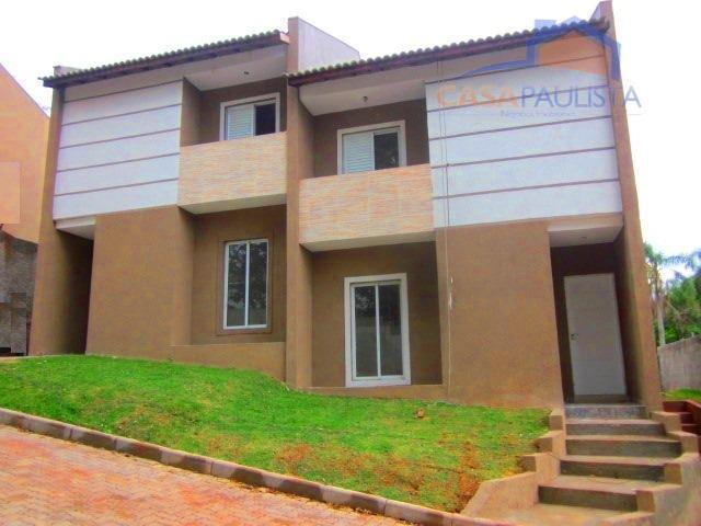 lindo villagio com 6 unidades de sobrados com sacada e 94m² de área construída com 2...