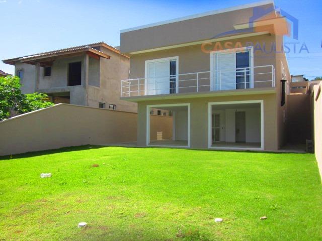 excelente casa em condomínio com 3 suítes sendo uma com hidromassagem e duas delas com sacada,...