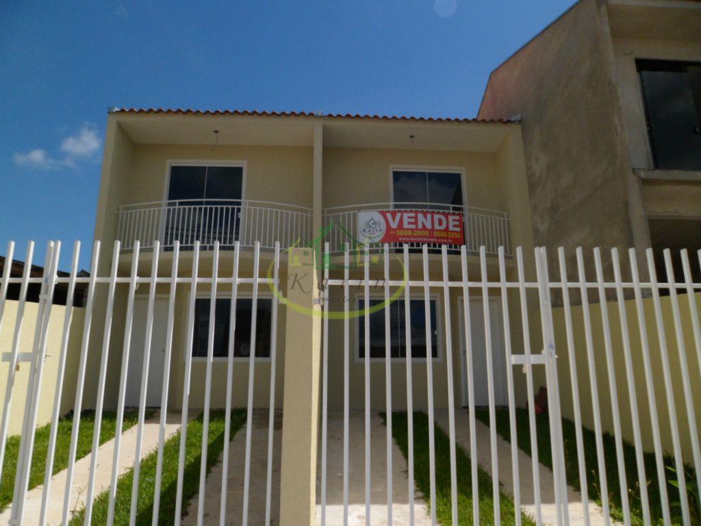 Sobrado residencial à venda, Campo de Santana, Curitiba - SO0005.