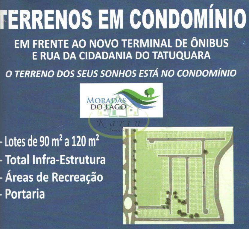 Terreno residencial à venda, Tatuquara, Curitiba.