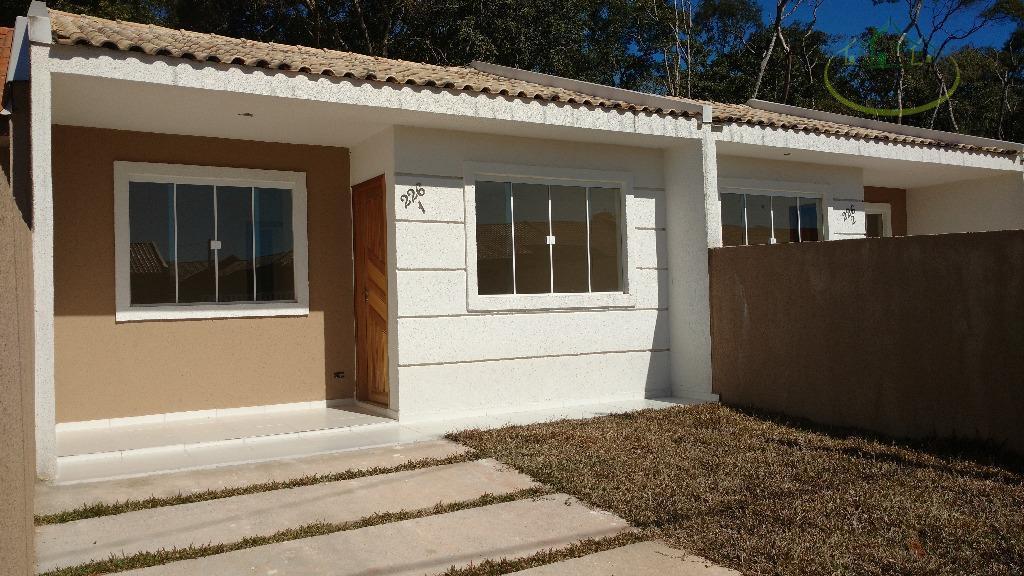 Casa residencial à venda, Eucaliptos, Fazenda Rio Grande - CA0295.