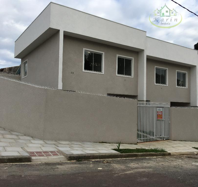Casa residencial à venda, Campo de Santana, Curitiba.