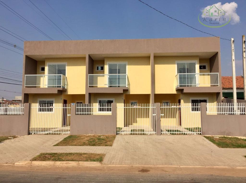 Sobrado residencial à venda, Campo de Santana, Curitiba.