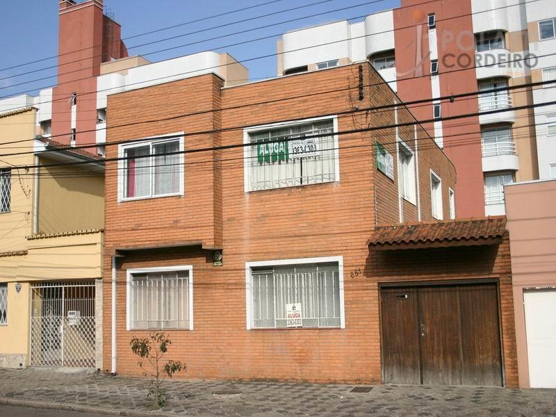 Sobrado  comercial para locação, Mercês, Curitiba.