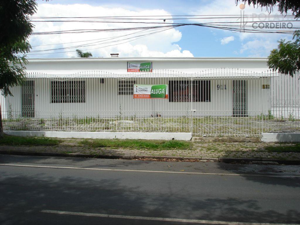 Casa  comercial para locação, Bacacheri, Curitiba.