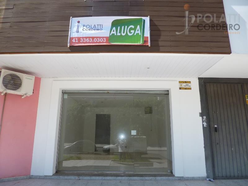Loja  comercial para locação, Alto da Rua XV, Curitiba.