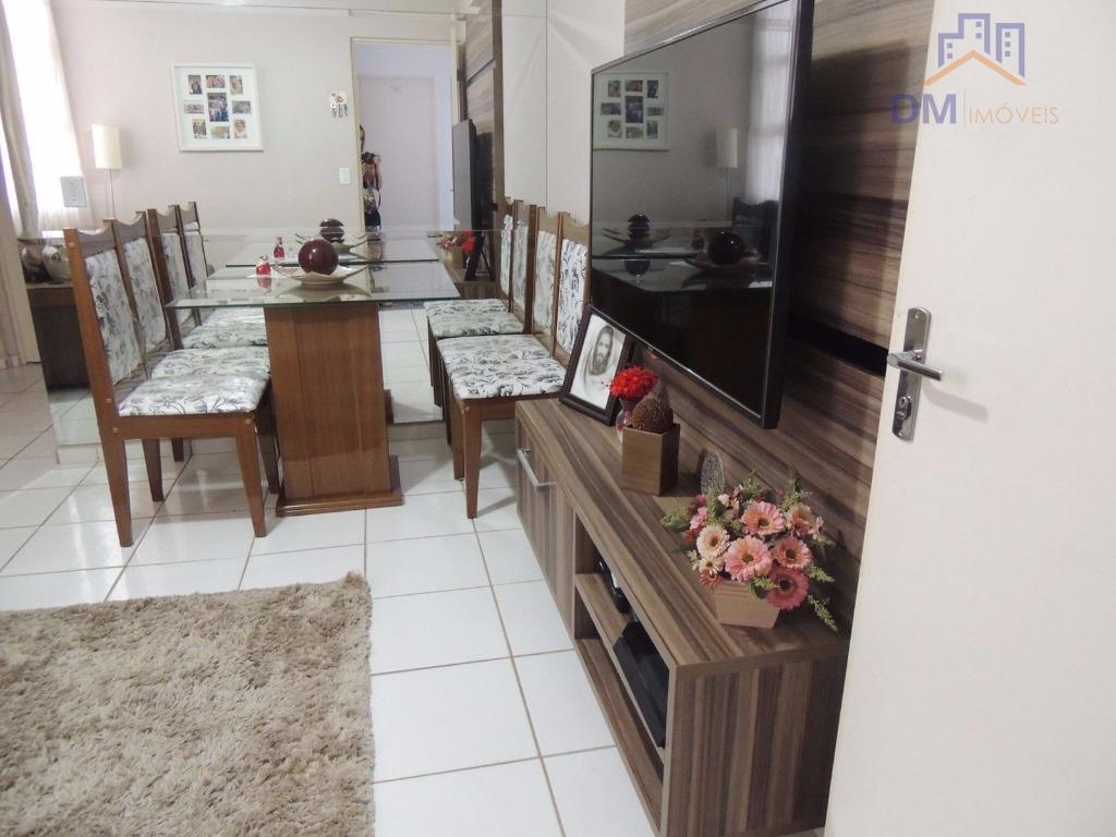 Apartamento residencial à venda, Jardim Santa Maria (Nova Veneza), Sumaré.