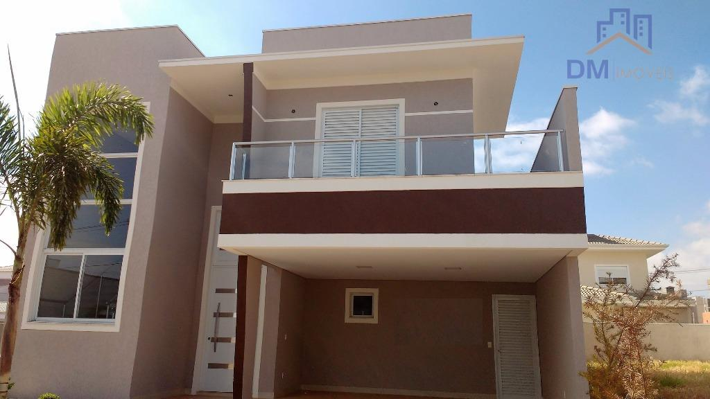 Casa  residencial à venda, Residencial Real Parque Sumaré, Sumaré.