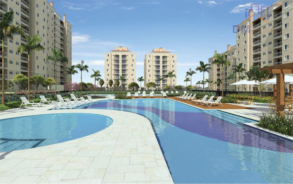 Apartamento residencial para locação, Jardim São Vicente, Campinas.