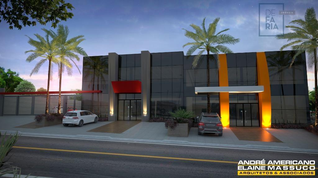 Salão  comercial para locação, Vila Mollon IV, Santa Bárbara D'Oeste.