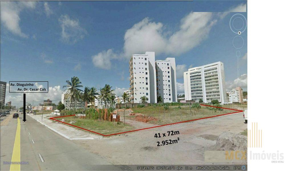 Terreno  residencial à venda na Praia do Futuro, em Fortaleza/CE.
