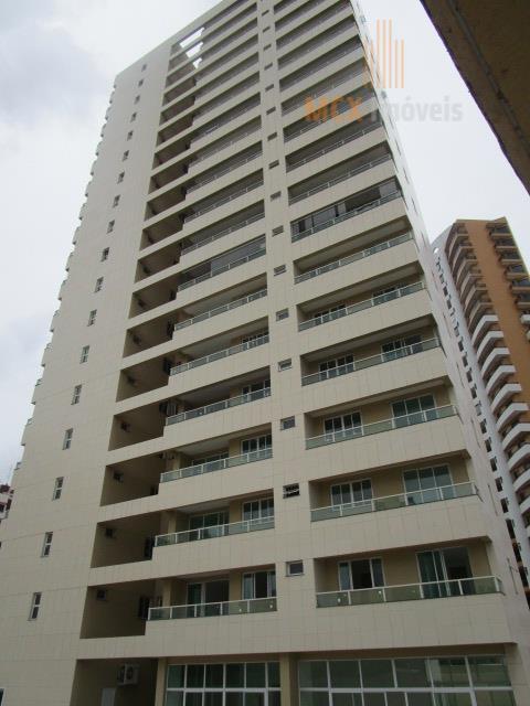 Apartamento com 3 suítes, 3 vagas e 126m² para locação, Cocó, Fortaleza.