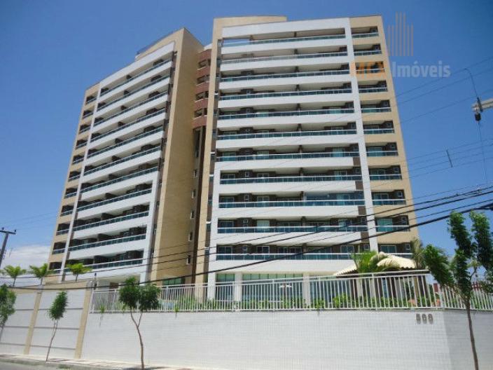 Apartamento com 3 suítes, 3 vagas e 112m² para locação, Luciano Cavalcante, Fortaleza/CE.