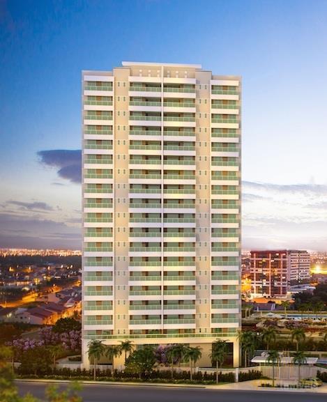 Apartamento residencial à venda, Edson Queiroz, Fortaleza.