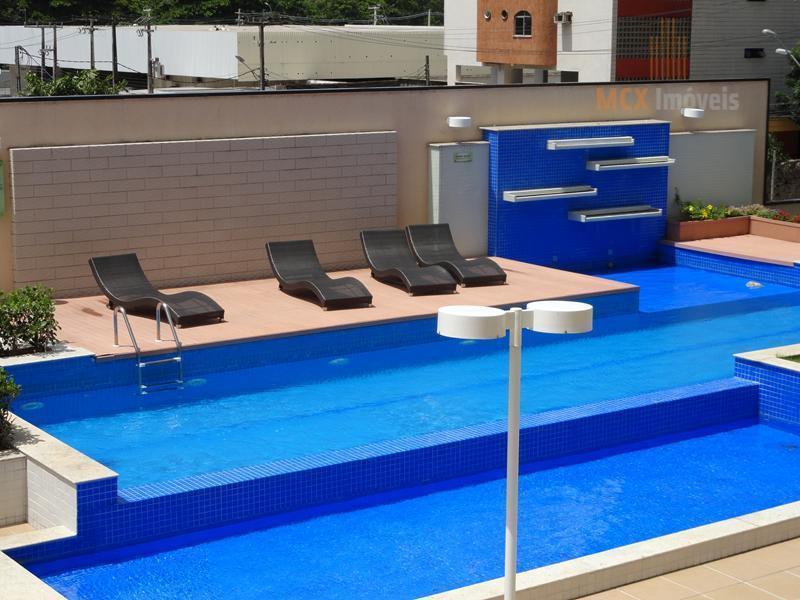 Apartamento  de 100m² com 3 quartos, sendo 1 suíte e 2 vagas para locação no bairro Cocó, Fortaleza/CE