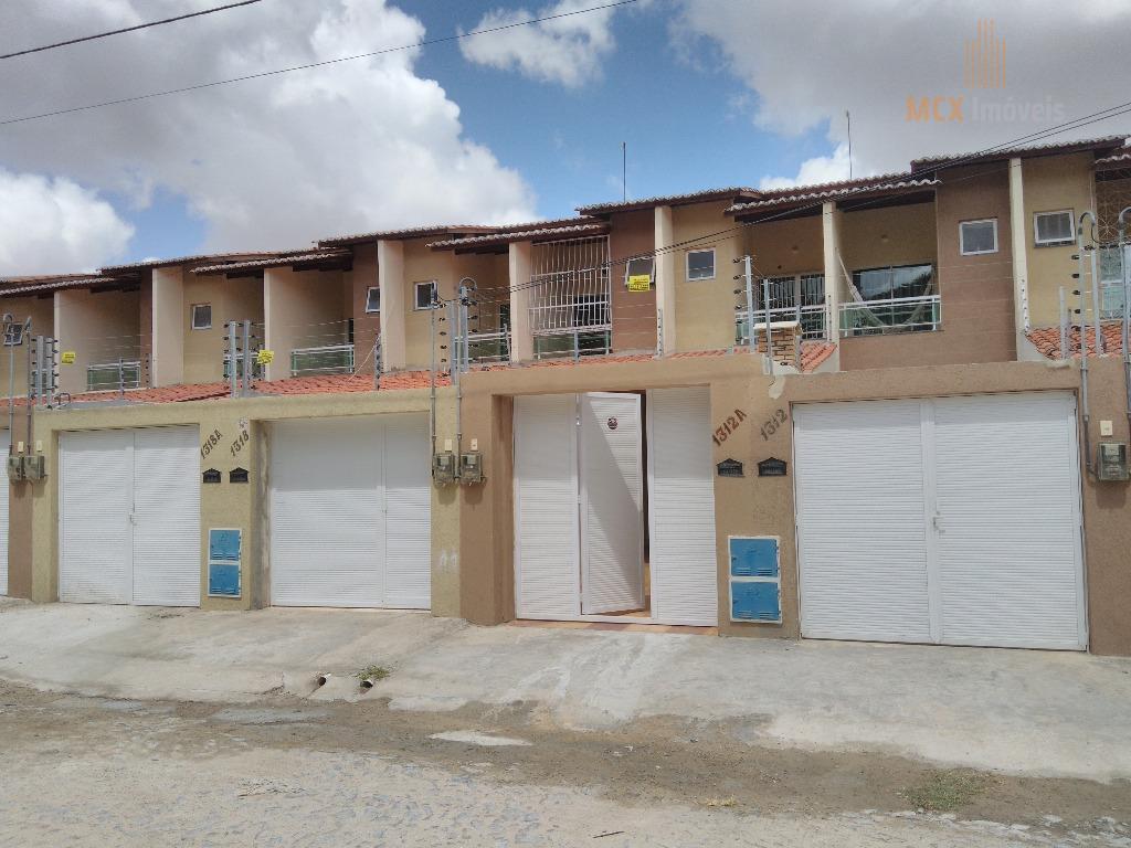 Casa de 73m², com 2 suítes para locação no bairro Jangurussu, Fortaleza/CE.