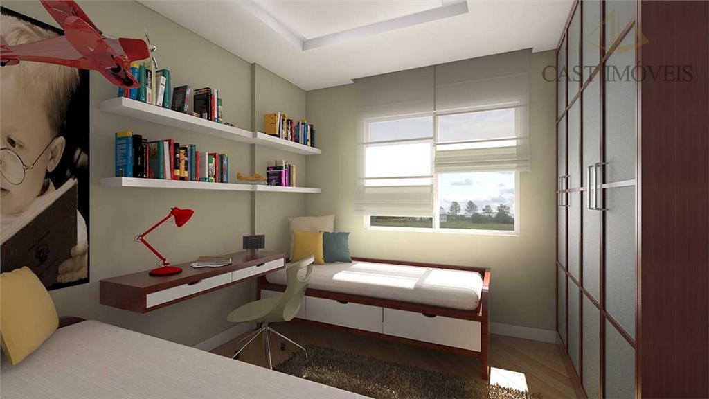 Apartamento de 1 dormitório em Água Verde, Curitiba - PR