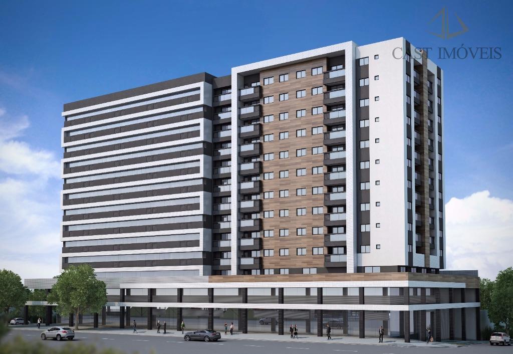 Apartamento de 2 dormitórios em Capão Raso, Curitiba - PR