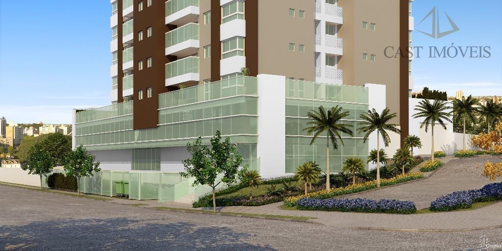 Apartamento de 3 dormitórios em Cabral, Curitiba - PR