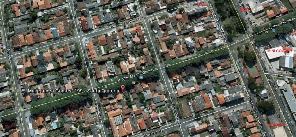 Terreno em Santa Quitéria, Curitiba - PR