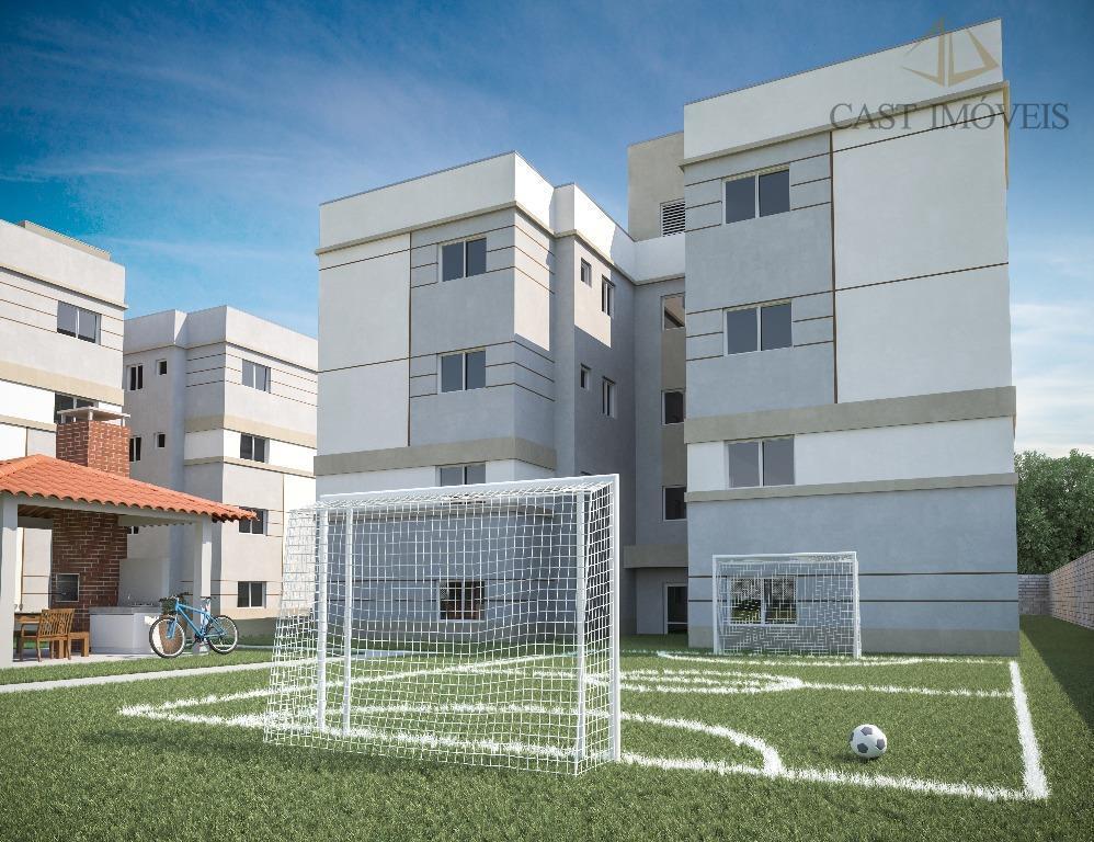 Apartamento de 2 dormitórios à venda em Campo De Santana, Curitiba - PR