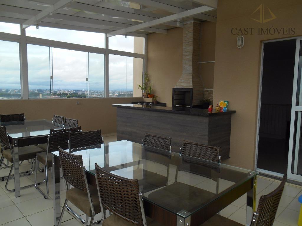 Cobertura de 3 dormitórios em Xaxim, Curitiba - PR