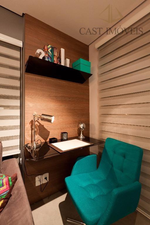 Studio de 1 dormitório em Centro, Curitiba - PR