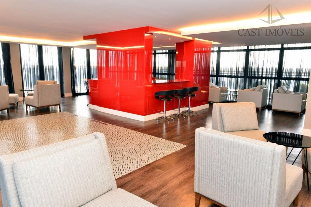 Apartamento de 2 dormitórios em Campina Do Siqueira, Curitiba - PR