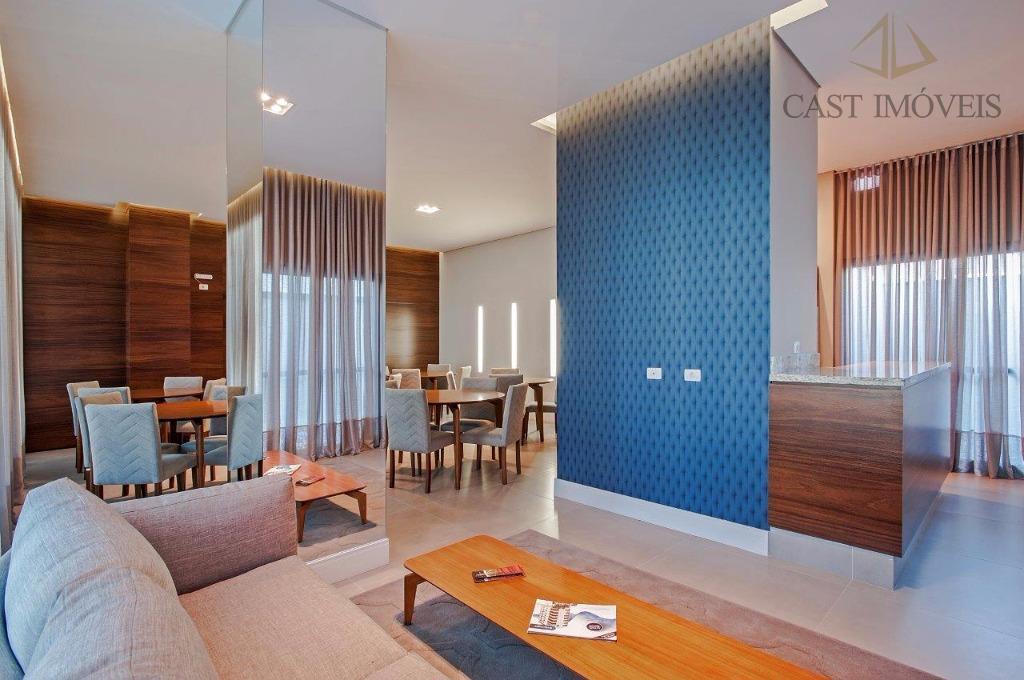 Apartamento de 2 dormitórios à venda em Rebouças, Curitiba - PR