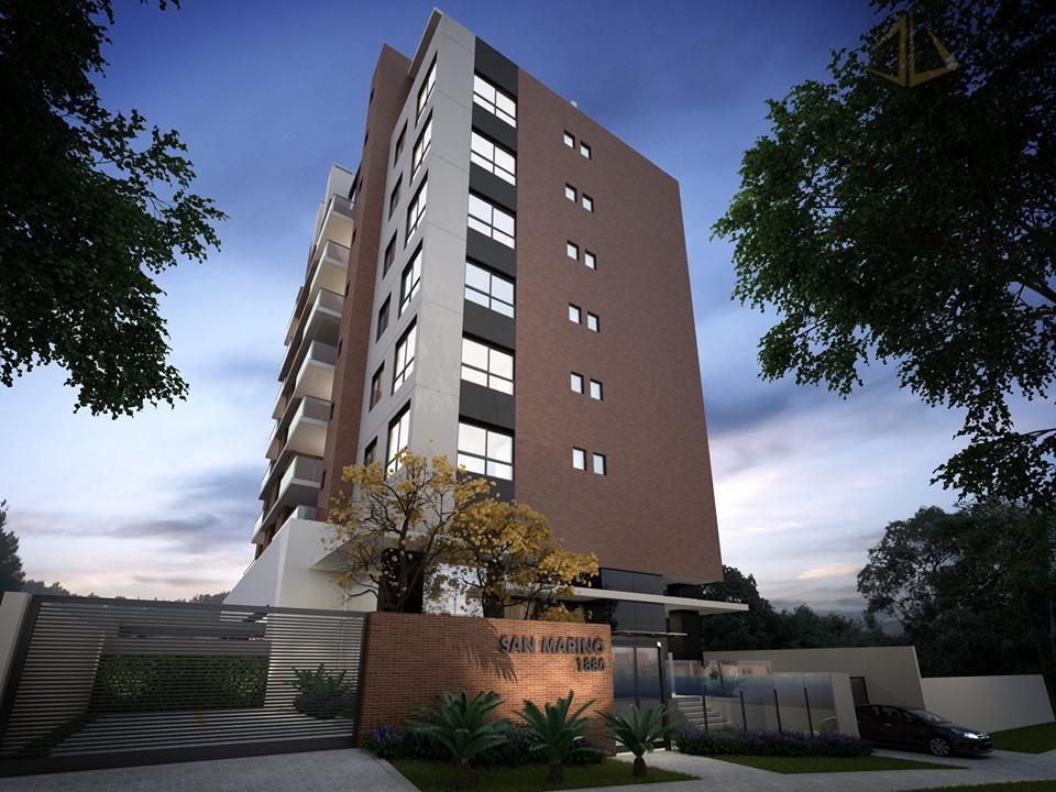 Apartamento de 3 dormitórios em Vila Izabel, Curitiba - PR